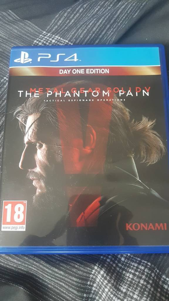 Metal gear solid the phantom pain for ps4