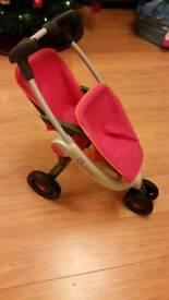 SMOBY QUINNY ZAPP TOY STROLLER