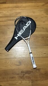 Head's Squash Racket avec lunnette de protection