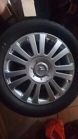 "Citoren 16"" alloys with tyres"