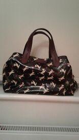 radley black designer handbag