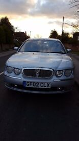 2002 Rover 75 2.0 V6 Club SE 4 door Automatic 12 months MOT in a good condition