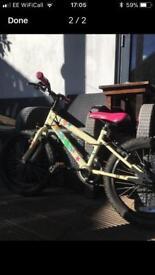 Girls bike age 5-8