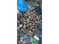 Bricks hardcore ruble half bricks