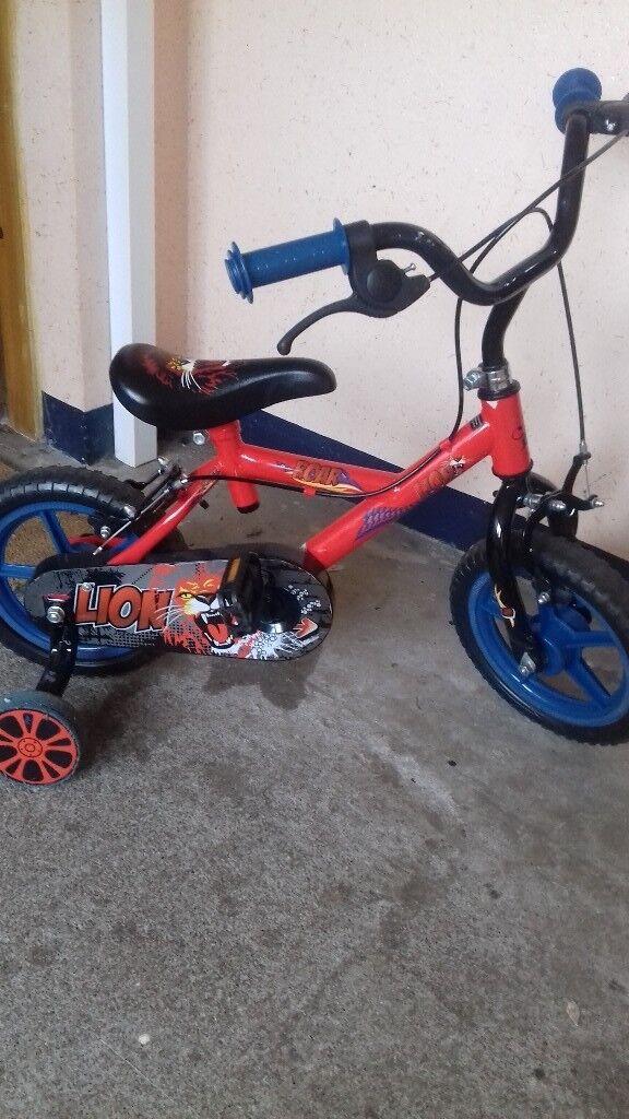 Fab first boys bike