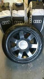 Audi winter wheels and tyres