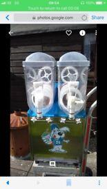 Polar krush slush machine