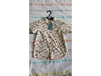 Boy's aeroplanes shirt. Brand new with tags age 1.5-2