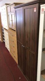 Canterbury 2 door wardrobe - Walnut