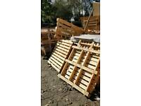Free pallets and wood ideal for fire