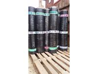 TORCH ON...( DEBOTEC ) ROOFING FELT VARIOUS COLOURS,£10 A ROLL