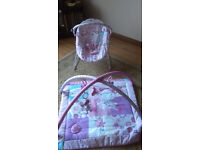 Play mat and Baby Bouncer seat