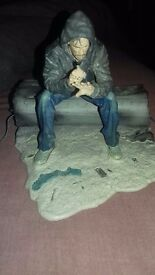 A figure from a tv show called lost