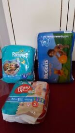 Various size Nappy for sale. Size 4, 4+, 5, 5+