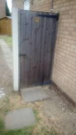 6ft wooden garden gate
