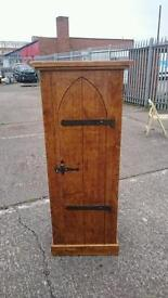 5ft tall church door cabinet