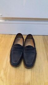 *Great value* Blue classic moccasins, size 7.5, only £15