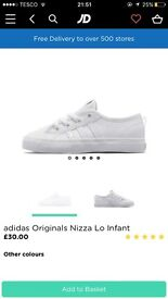 Infant nizza's. I have a size 7 and 8 brand new never been worn.