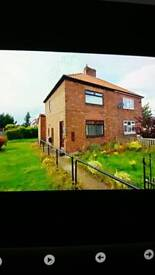 Nice clean and tidy 2 bedroom house in county Durham ready for rent post code DH63RS
