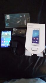 Sony experia m4 box charger on EE