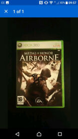 Medal Of Honour Airbourne Complete Xbox 360 Game