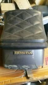 Honda gl500 rear seat silverwing