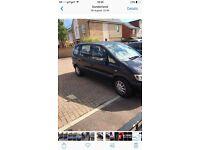 Vauxhall Zafira 7 seater 2.0dti