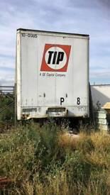 Articulated trailer