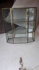Lovely glass display case ideal for collectables