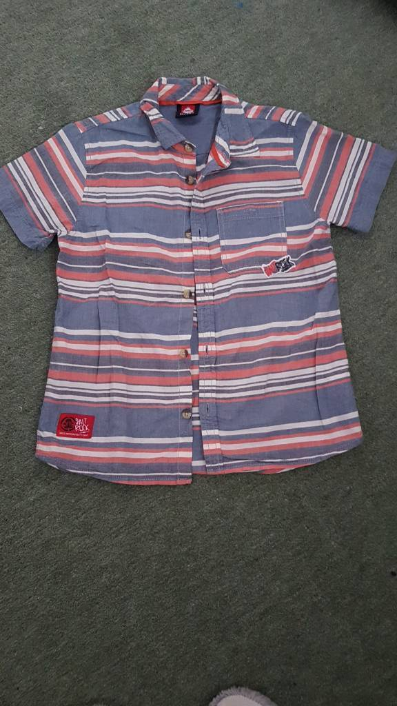 Boys saltrock shirt age 9-10