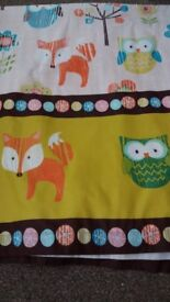 Lovely Woodland Curtains for kids bedroom