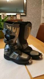 Wulfsport Kids Motorcross Boots Size 33