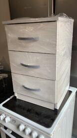 New bedside cabinet
