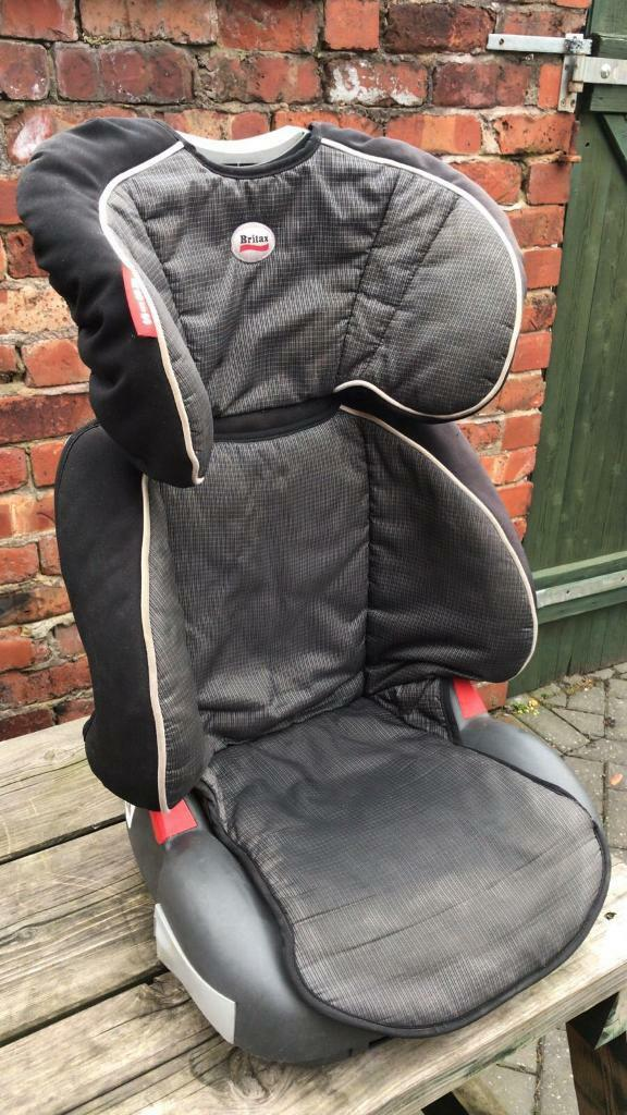 Britax Childrens Kids Car Booster Seat With Cup Holder
