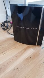 Sony Playstaion PS3 + Controller (Blu-ray, Netflix, Amazon, YouTube, etc.)
