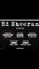 Ed Sheeran standing ticket for sale!