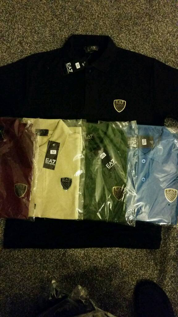 Armani Ea7 tshirts