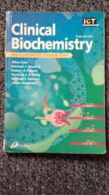 Clinical Biochemistry Illustrated colour text Allan Gaw 3rd edition (2x)