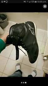 Alpinestar motorbike shoes