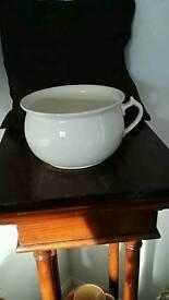 Vintage cream potty