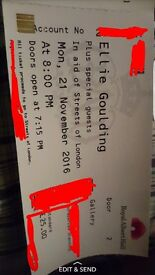 **Ellie goulding tickets royal Albert Hall**£70 for 2 tickets**