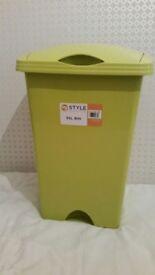 Green bin - Plastic 50L (Brand New)