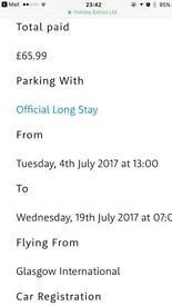 Glasgow parking