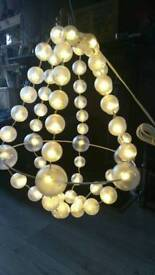Ikea Snowball LED Chandelier Light /Decoration