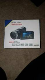 HD video camera brand new not used