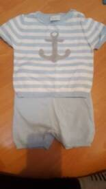 0-3 months spanish outfit