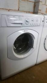 HOTPOINT 7KG 1400 SPIN WASHING MACHINE WITH 3 MONTHS GUARANTEE