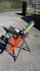 Tripod for Holding Logs Whilst Chainsawing