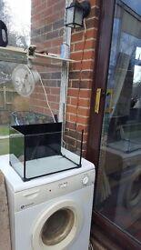 Glass fish tank ( no lid)