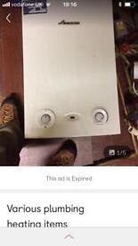Plumbing heating items